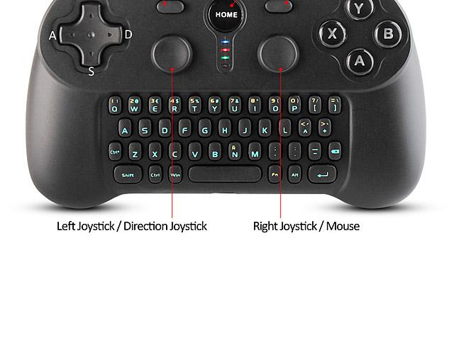 Bluetooth Gamepad With Keyboard