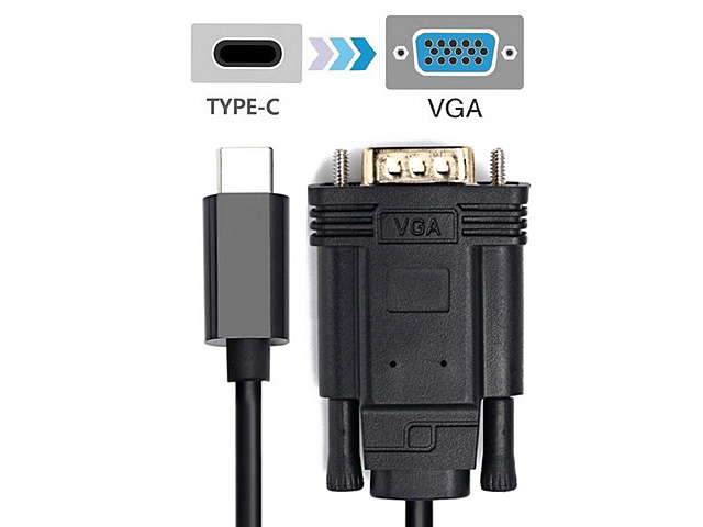 USB 3.1 Type-C to VGA Cable