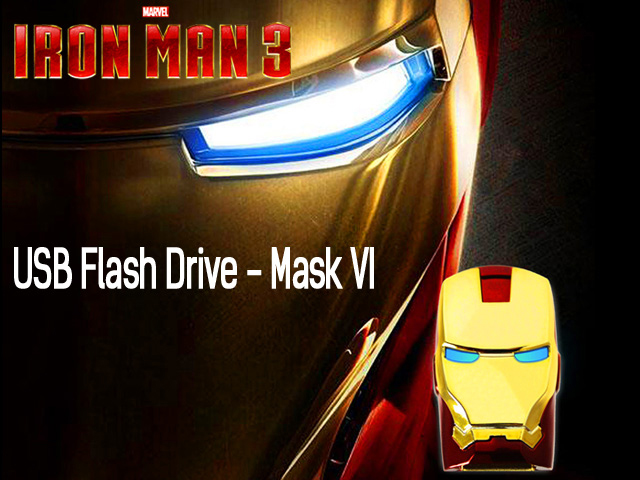 infoThink IRON MAN 3 USB Flash Drive - Mask VI