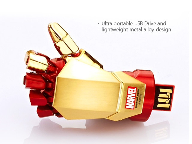 infoThink IRON MAN 3 USB Flash Drive - Right Hand