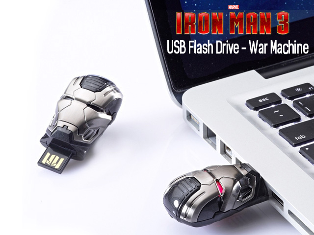 infoThink IRON MAN 3 USB Flash Drive - War Machine