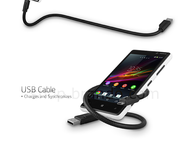 USB Gooseneck Cable for Micro USB