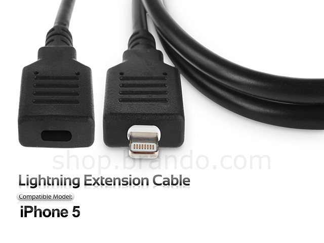iphone 5 lightning cable iphone 5 5c 5s lightning extension cable 14538