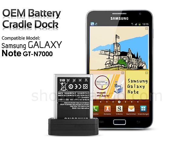 oem samsung galaxy note gt n7000 battery cradle dock