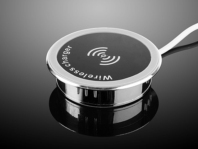QI Wireless In-Desk Charger