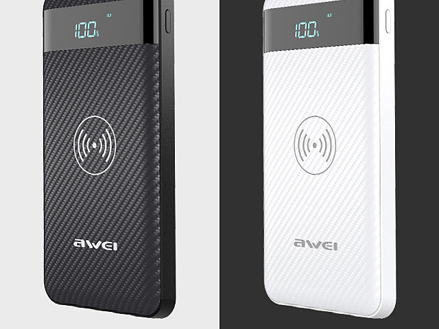 Awei P55K Wireless Charging Power Bank (10000mAh)