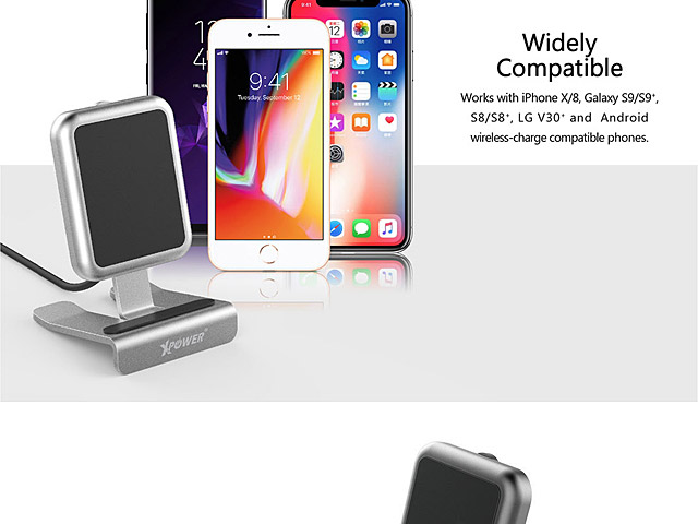 Xpower WLS2 (1 Coils) Wireless 9V Fast Charger Stand