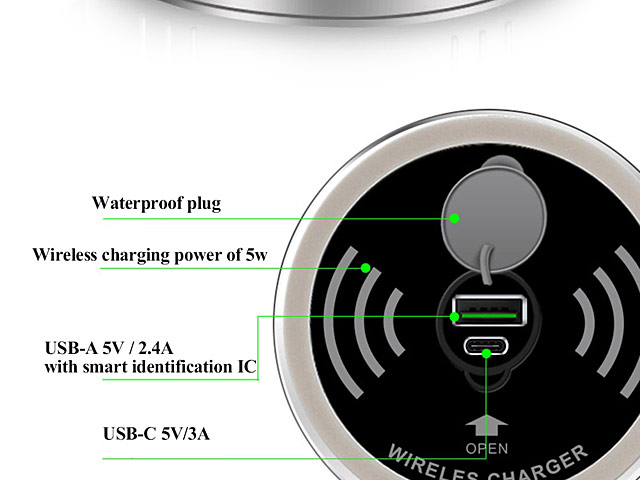 In-Desk Universal Wireless Charger