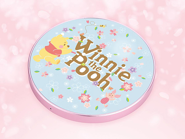 infoThink Winnie the Pooh (Sakura Limited) Wireless Charging Pad