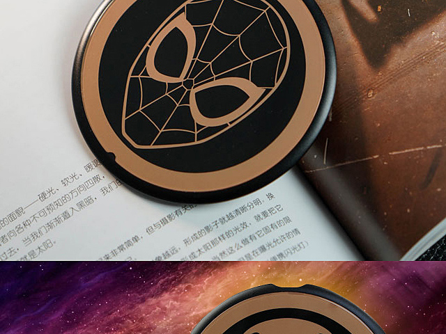 Marvel Black Gold Series Wireless Charger