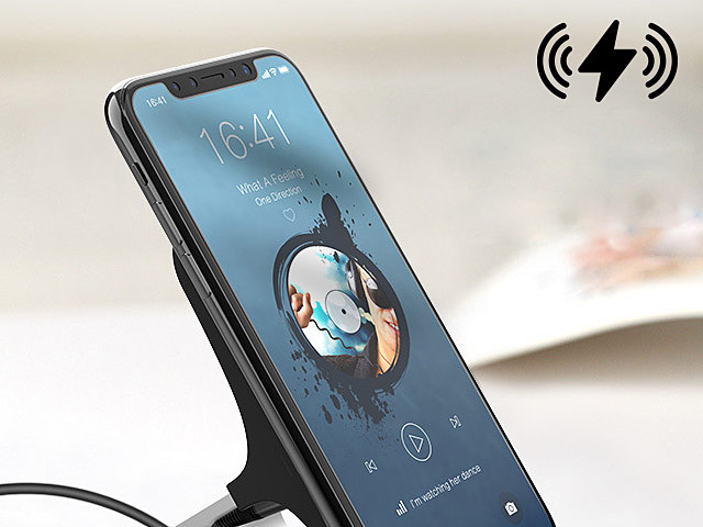 Aluminum QI Wireless Charger Stand