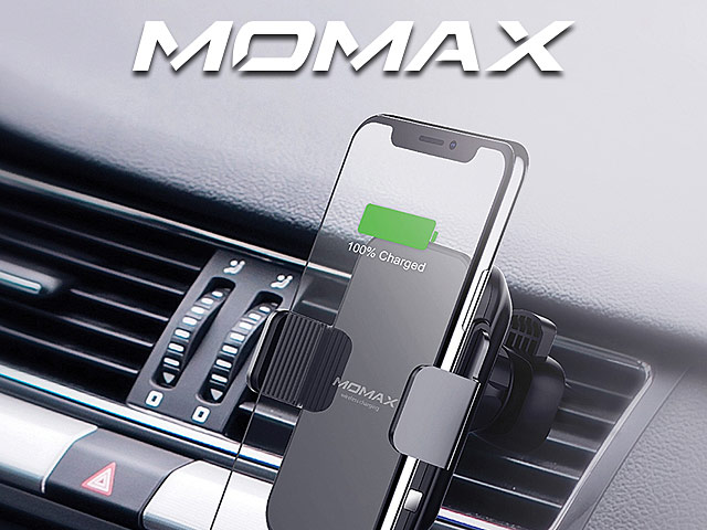 Q Auto Brandon >> Momax Q Mount Smart Auto Clamping Wireless Charging Car