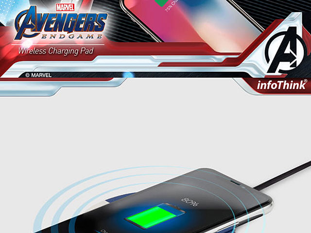 infothink AVENGERS - ENDGAME Series Wireless Charging Pad (Captain America)