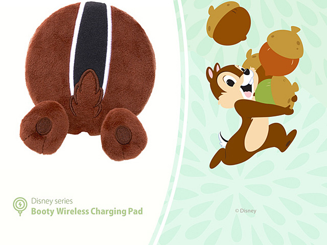 infoThink Disney Series Booty Wireless Charging Pad - Chip & Dale