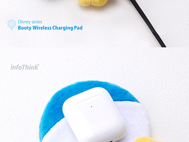 infoThink Disney Series Booty Wireless Charging Pad - Donald Duck